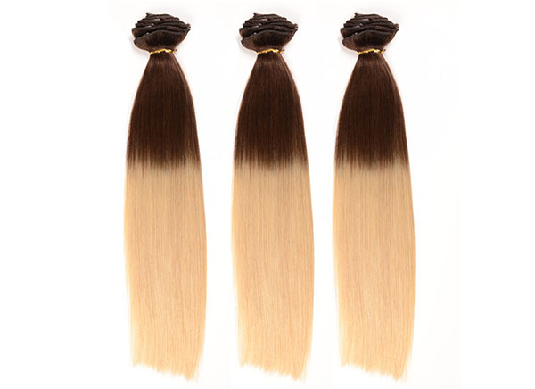 Processed Human Hair Extensions